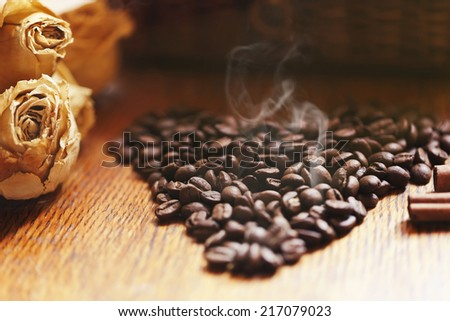 http://www.shutterstock.com/ru/pic-217079023/stock-photo-bunch-of-old-roses-with-cinnamon-brown-sugar-coffee-beans-on-old-wooden-table.html?src=jbJfCWTgnY9_1XyC6aDsVA-1-12
