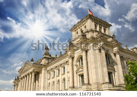 Bundestag Power and Majesty - Berlin - Germany