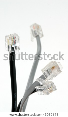 Bundle of DSL Cords