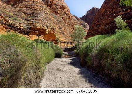 Bungle Bungle rangers in the northern Kimberley region of outback Western Australia. #670471009