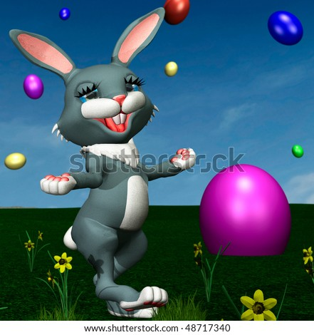 stock-photo-bunny-with-colored-easter-eggs-48717340.jpg