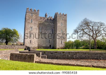 Bunratty Castle in Co. Clare - Ireland.