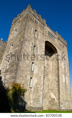 Bunratty castle in west Ireland