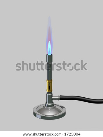 Bunsen burner stock photos illustrations and vector art