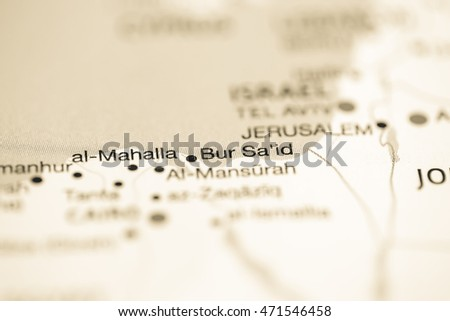 Bur said egypt