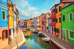 Burano, an island in the Venetian Lagoon