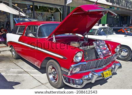 photo of Steve Borden 1956 Chevy Nomad  - car