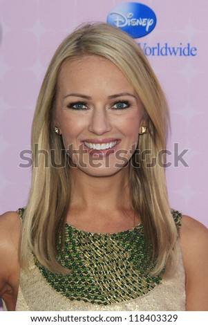 BURBANK - NOV 10: Brooke Anderson at the premiere of Disney Channels' 'Sofia The First: Once Upon a Princess' at Walt Disney Studios on November 10, 2012 in Burbank, California