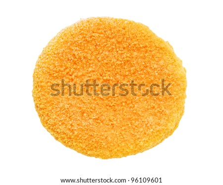 Burger isolated on the white background