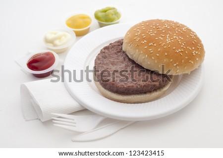 burger to put bread ingredients list