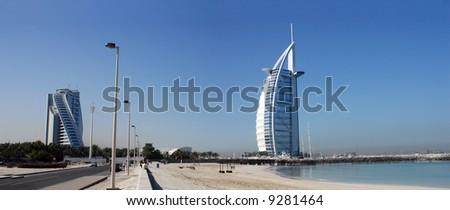 Burj Al Arab, Jumeirah-Beach, Landmarks of Dubai Middle East