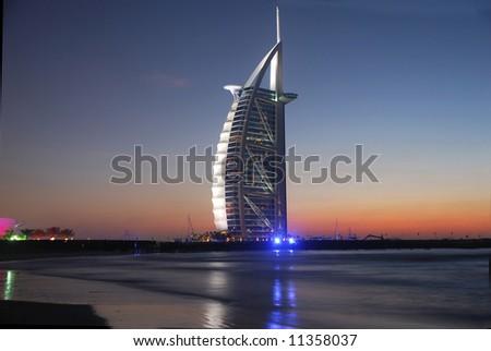 Burj Al Arab, Jumeirah-Beach, Middle East