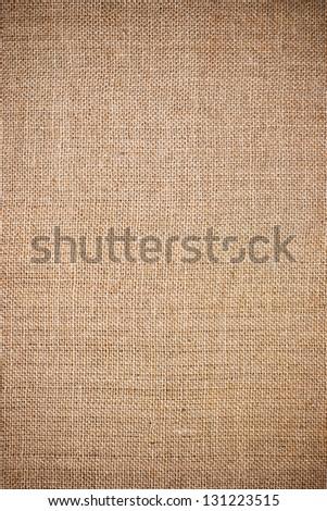 Burlap Background. Natural Textured Canvas