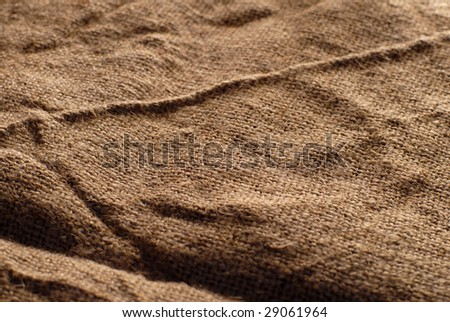 burlap brown texture for background