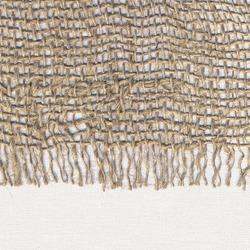 Burlap fringe texture background