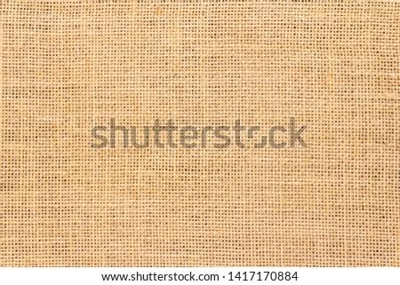 Burlap sack background and texture Stock photo ©