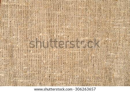 burlap sacking texture background