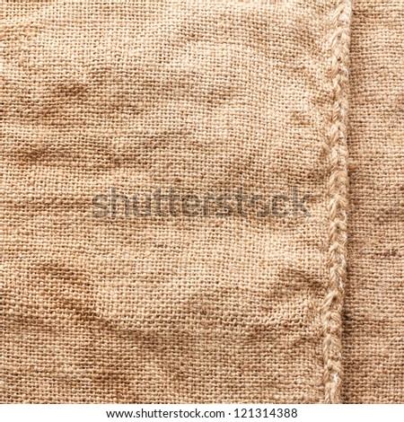 Burlap Texture