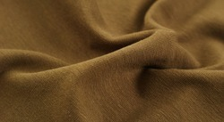Burlap texture rough cloth Wrinkled brown woolen fabric for background