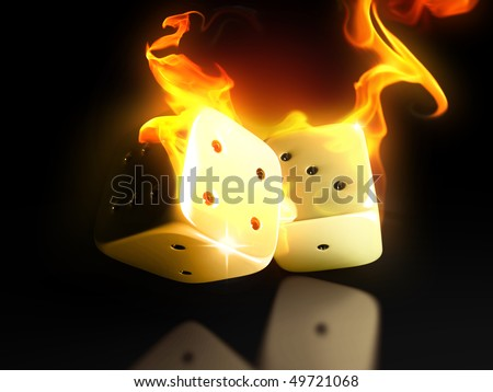 Burning dice in hell