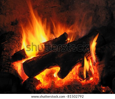 Burning Logs
