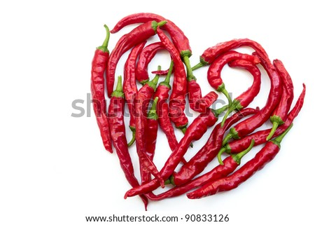 Burning love. - stock photo