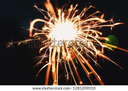Burning Silvester Sparkler #1285209010