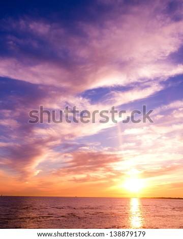 Burning Skies Evening Scene #138879179