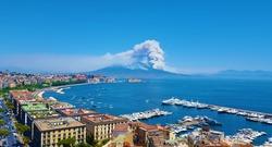 Burning Vesuvius 2017.07.11