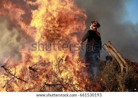 Burning Witch #661530193