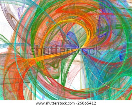 bursting abstract rainbow background design