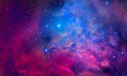 Bursting Nebula - Elements of this Image Furnished by NASA