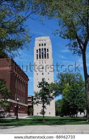 Burton Memorial Bell Tower, University of Michigan