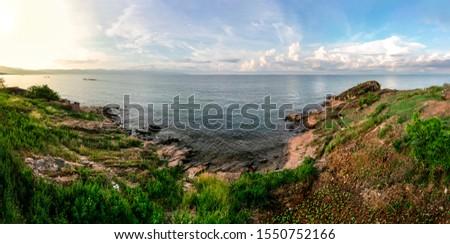 Burundian shoreline of Lake Tanganyika near Nyanza Lac