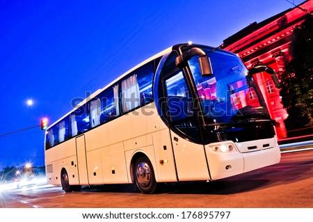 bus car headlight
