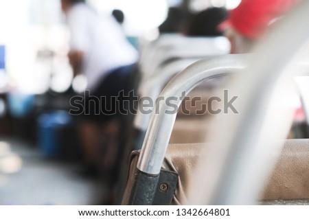 Bus seat handle #1342664801