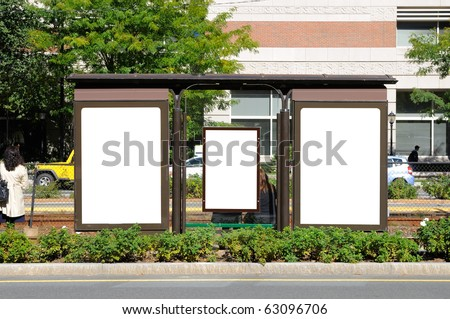 Bus Stop Billboards