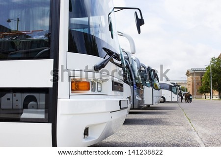 buses parking