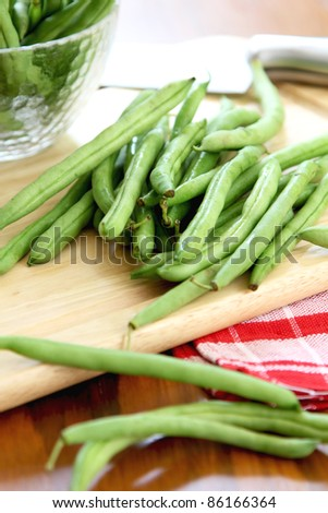 Bush bean,Green bean