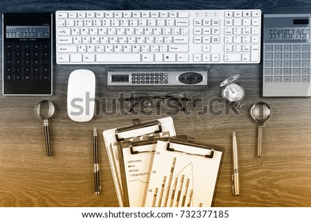 Business accounting  - Shutterstock ID 732377185