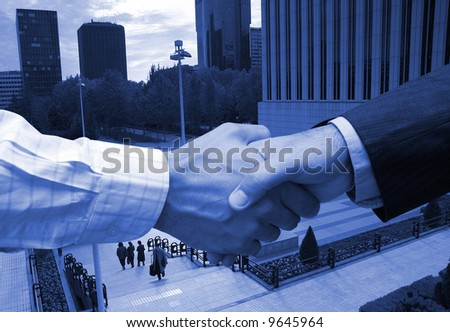 Business agreement in the financial area