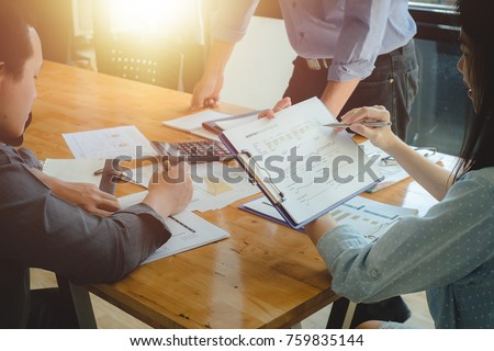 business and finance concept of ...