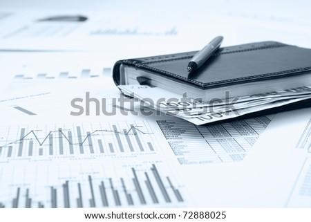 Business and financial still life