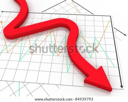 business arrow