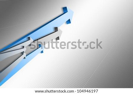 business arrow background