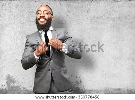 business black man proud