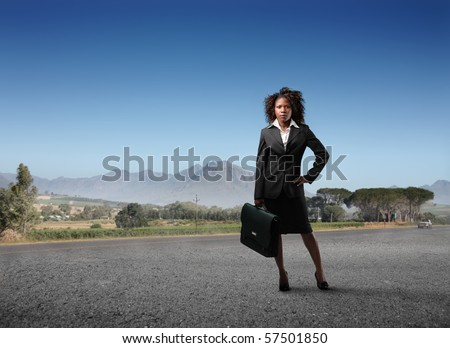 business black woman in cape town, south africa