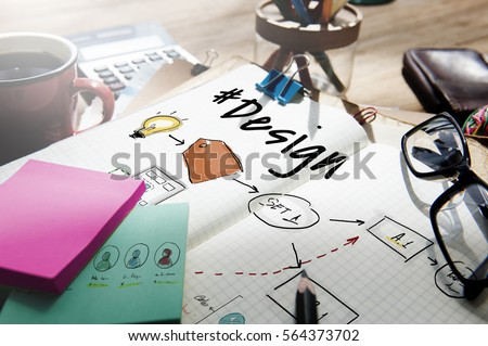 Business branding label chart graphic #564373702