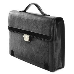 business briefcase isolated on white background