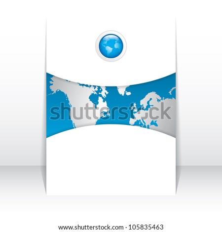 Business brochure, flyer template